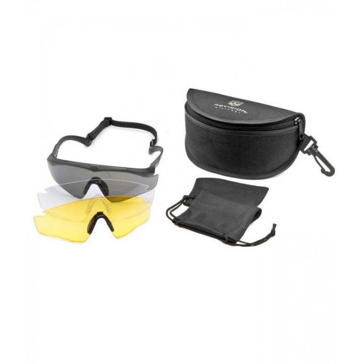 Okulary balistyczne Sawfly Legacy Max zestaw Deluxe firmy Revision