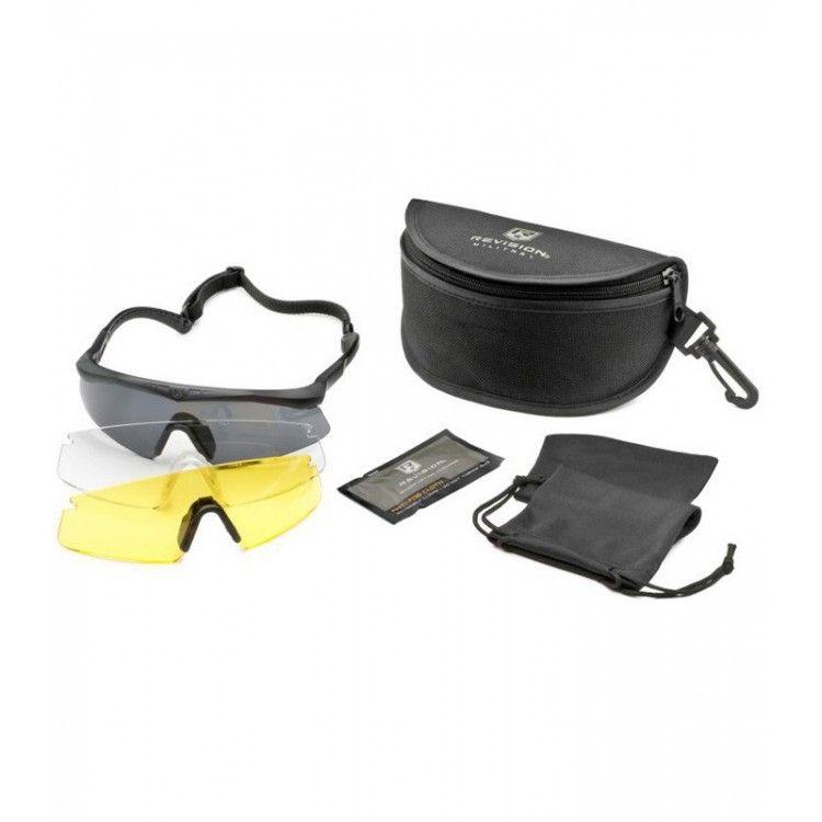Okulary balistyczne Sawfly Legacy zestaw Deluxe firmy Revision