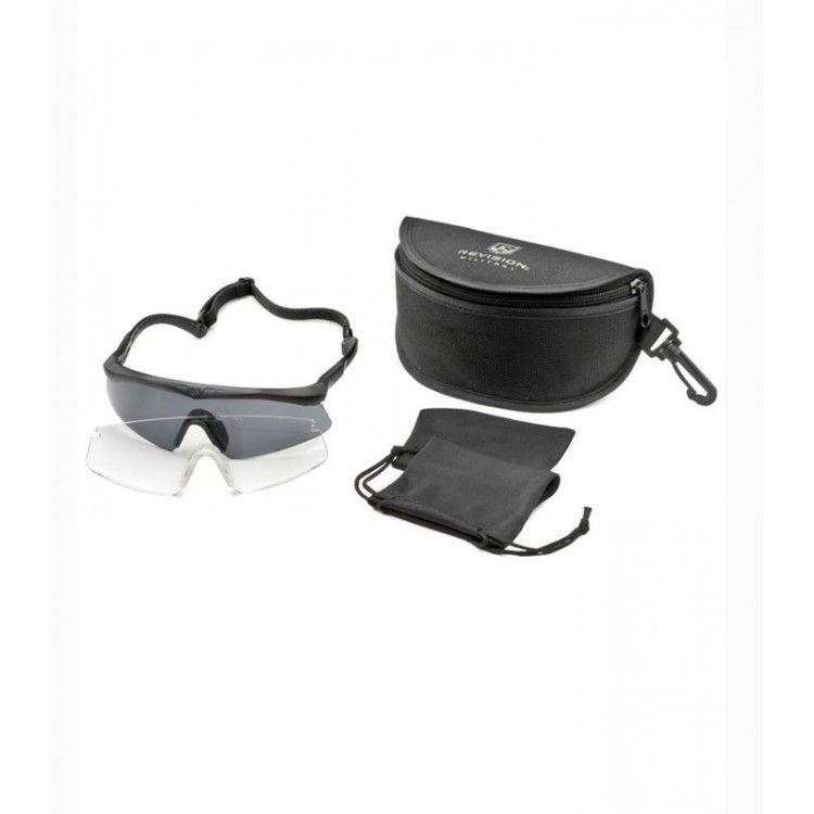 Okulary balistyczne Sawfly Legacy zestaw Essential firmy Revision