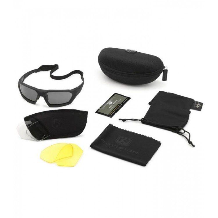 Okulary balistyczne ShadowStrike zestaw Deluxe firmy Revision