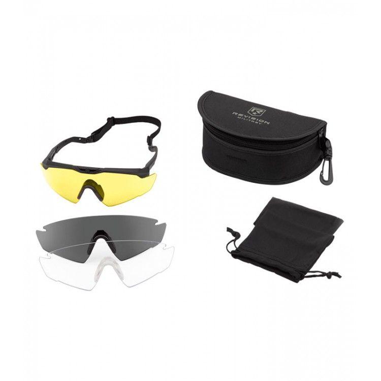 Okulary balistyczne Sawfly R3 zestaw Deluxe firmy Revision