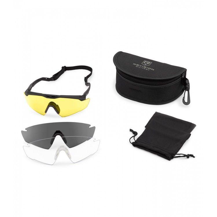 Okulary balistyczne Sawfly R3 MAX zestaw Deluxe firmy Revision
